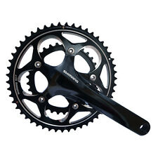Shimano FC-R565 Road Bike Double Crankset 50X34T 109-Speed 175mm Black