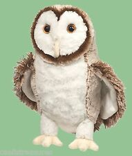 "Douglas Swoop BARN OWL 10"" Plush Stuffed Bird Animal Cuddle Toy NEW"