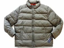 New Tommy Hilfiger Nylon Olive Green Down Alternative Puffer Jacket sz XXL