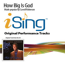 Carroll Roberson - How Big Is God - Accompaniment Track