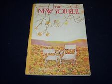 1964 OCTOBER 17 NEW YORKER MAGAZINE - BEAUTIFUL FRONT COVER FOR FRAMING- O 5005