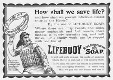 LIFEBUOY SOAP Victorian Advertisement 1896
