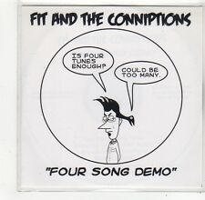 (FO554) Fit & The Conniptions, Four Song Demo - DJ CD