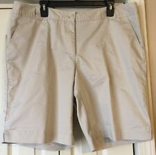 Women's Plus Size 18W White Stag Stone Tile Walking/Bermuda Shorts