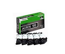 5 Rolls Fuji Fujifilm Neopan Acros 100 120 B/W Medium Format Film 11/2018