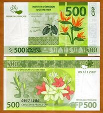 French Pacific Territories, 500 Francs ND (2014) P-New, UNC