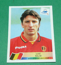 N°331 LUC NILIS BELGIQUE BELGIË PANINI FOOTBALL FRANCE 98 1998 COUPE MONDE WM