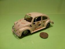 KIT (built) 4 VW VOLKSWAGEN BEETLE KAFER 1303 FIREGIRL L14.5cm - GOOD CONDITION