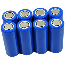 8X 26650 3.7V Li-ion Rechargeable Battery For UltraFire T6 LED Flashlight Torch