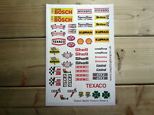 RC Radio Controlled CAR STICKERS Set2 Mardave Vintage Classic Race Tamiya Kyosho