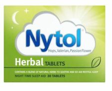 Nytol Herbal - Pack of 30 Tablets - Natural Sleeping Sleep Insomnia Remedy Aid