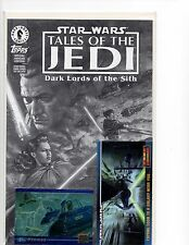 STAR WARS TALES OF THE JEDI DARK LORDS OF THE SITH ASHCAN TRADING CARDS EDITION