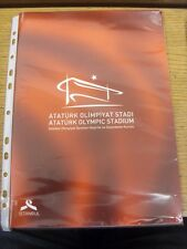 2002 Ataturk Olympic Stadium: A Glossy Promotional Brochure To Promote The Openi