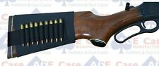 10 round Rifle Bullet Band Buttstock Elastic Ammo Sleeve Holds 270 to 30.06 A52