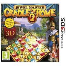 Jewel Master: Cradle of Rome 2 (Nintendo 3DS, 2012)