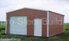 DuroBEAM Steel 30x36x12 Metal Building Prefab DIY Garage Workshop Kits DiRECT