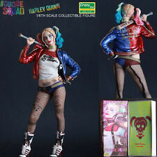 CRAZY TOYS DC SUICIDE SQUAD HARLEY QUINN COLLECTIBLE STATUE PVC ACTION FIGURINES