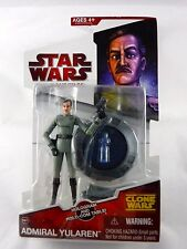 "STAR WARS The Clone Wars TCW Red MOC 3.75"" Figure Toy Admiral Yularen CW07"