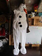 Kids Size 3 Disney Frozen Olaf the Snowman Costume Dress up Halloween snow fun