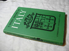 A Short HISTORY of ITALY From Classical Times to the Present Day 1963 1st ed