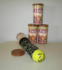 3 SNAKE IN A NUT CAN  SPRING LOADED TRICK NUTS GAG CLASSIC PRANK NOISE MAKER