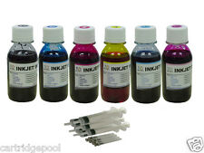 Refill ink for Epson printer 6 color 600ml