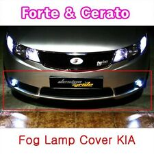 Fog light cover conversion kit Black (Fits: Kia 2010-2013 Forte Sedan Cerato)