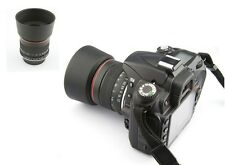 85mm Portrait Lens f/1.8 for Canon Digital SLR Camera 7D 6D 1D 5D 60D 1Dx 1Ds