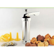 Decorating Machine Kit 20 Piece Biscuit Making Set Cookie Press Pump Cake Maker