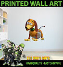 PRINTED WALL ART WALL TOY STORY SLINK SLINKY THE DOG GRAPHIC STICKER DECAL