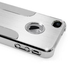 Apple iPhone 4/4s, funda protectora de aluminio cromo bumper Hard Case Handy