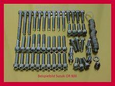 Suzuki DR 800 / DR800 Edelstahlschrauben Schrauben Motorschrauben Schraubensatz
