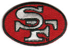 "1968-95 SAN FRANCISCO 49ERS NFL FOOTBALL 2.5"" OVAL LOGO PATCH"
