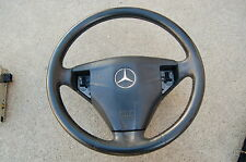 MERCEDES C230 COUPE  STEERING WHEEL AND AIRBAG OEM 2034601203 EXCELLENT