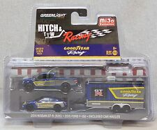 Greenlight 1:64 Hitch & Tow Racing Nissan Ford Set - Goodyear - MiJo Exclusive