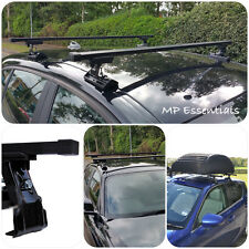 Heavy Duty Black Steel Roof Rack Rail Bars for Fiat Punto (99-05) 5 Drs- #SUM300