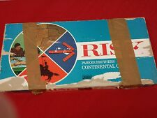 Vintage 1968 RISK Board Game Parker Brothers-Not Complete Missing 4 pieces