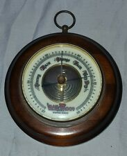 Vintage Leak Proof Piston Ring Barometer Made in Germany Oil Gas Advertising