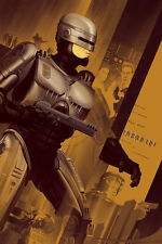 Robocop Poster - Variant - Mondo - Kevin Tong - Limited Edition of 150