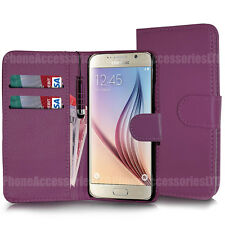 Flip Wallet Leather Case Cover Pouch For Samsung Galaxy Phones Various Models