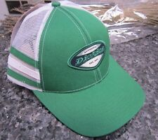 (1) DICKIES UNISEX TRACKER /BASEBALL CAP /HAT W/STRIPES GREEN & WHITE ONE SIZE