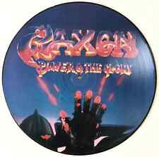 SAXON - Power And The Glory (LP) (Picture Disc) (G/VG+)