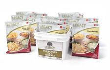 Legacy 32 Serving Grab and Go Emergency Storage Meals- 72 Hour Kit