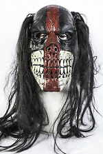 Evil Killer Voodoo Clown Halloween Latex Mask Costume Fancy Dress Zombie Skull