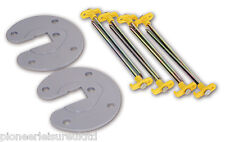 FIAMMA AWNING LEG FIXING PLATE AND PEG KIT TO SECURE FIAMMA AWNINGS (98655-724)