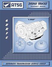 ATSG Dodge Ram 68RFE 6spd Transmission Rebuild Tech Instruction Service Manual