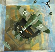"IXO Messerschmitt BF 109 G-10 ""White 21"" Germany Aircraft/Jet Die-Cast 1:72 NEW"