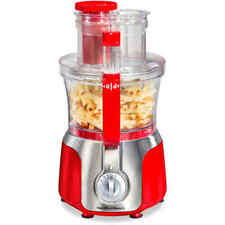 Hamilton Beach Big Mouth Deluxe 14-Cup Food Processor Red