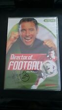 NEW Ally McCoist's DIRECTOR OF FOOTBALL soccer manager game PC. FIRST CLASS post