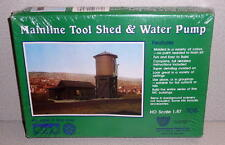 Vintage IHC  Western Germany MAINLINE TOOL SHED & WATER PUMP Kit HO Scale MIB